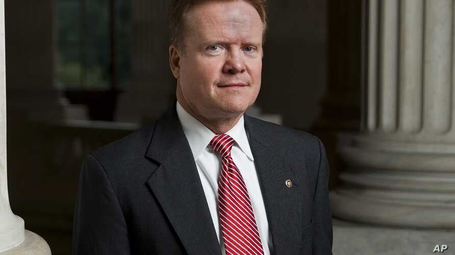 FILE - Former Virginia senator Jim Webb.