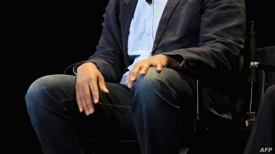 Writer Ta-Nehisi Coates speaks at the 2015 New Yorker Festival.