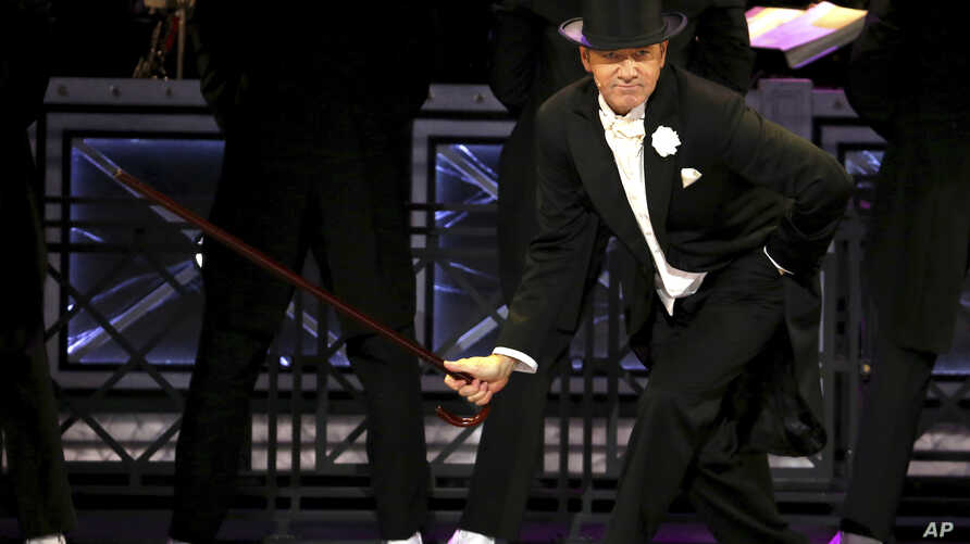 Kevin Spacey performs at the 71st annual Tony Awards, June 11, 2017, in New York.