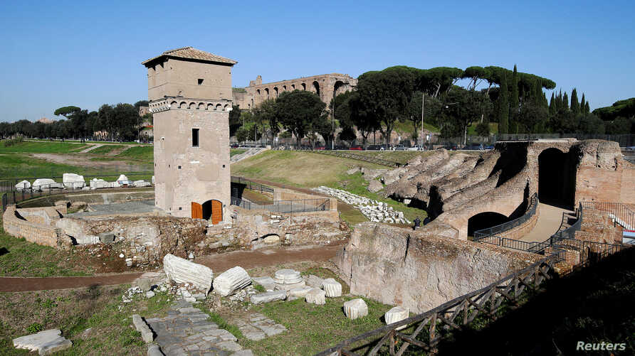 The ancient Circus Maximus has been reopened to the public after restoration in Rome, November 16, 2016.