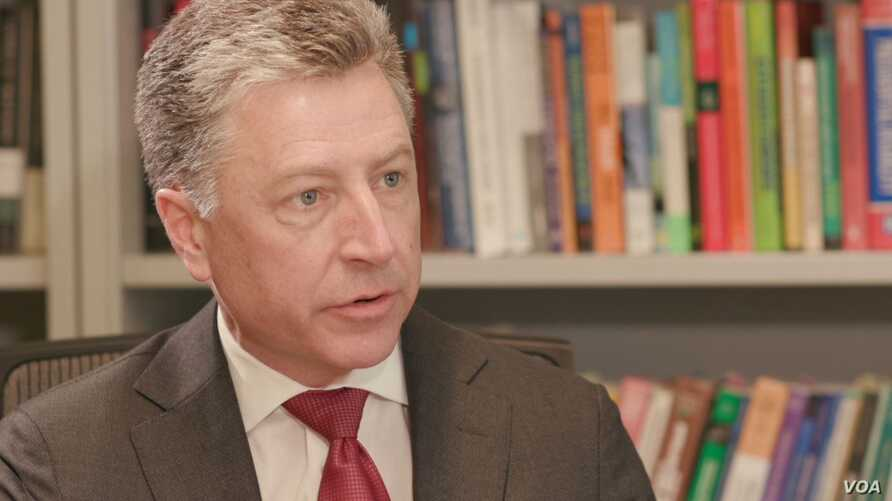 "U.S. Special Representative for Ukraine Kurt Volkers tells VOA's Ukraine Service that Russia needs to release the Ukrainian sailors taken captive in the Kerch Strait in late November by Christmas or ""before the New Year."""