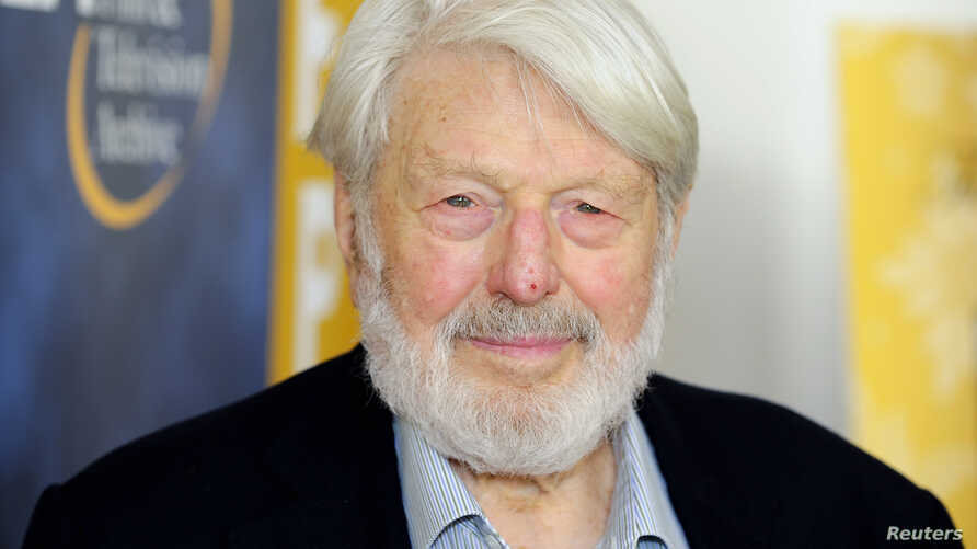 """Actor Theodore Bikel arrives at the opening night of the UCLA Film and Television Archive film series """"Champion: The Stanley Kramer Centennial"""" and the world premiere screening of the newly restored """"Death of a Salesman"""" in Los Angeles, California, A"""
