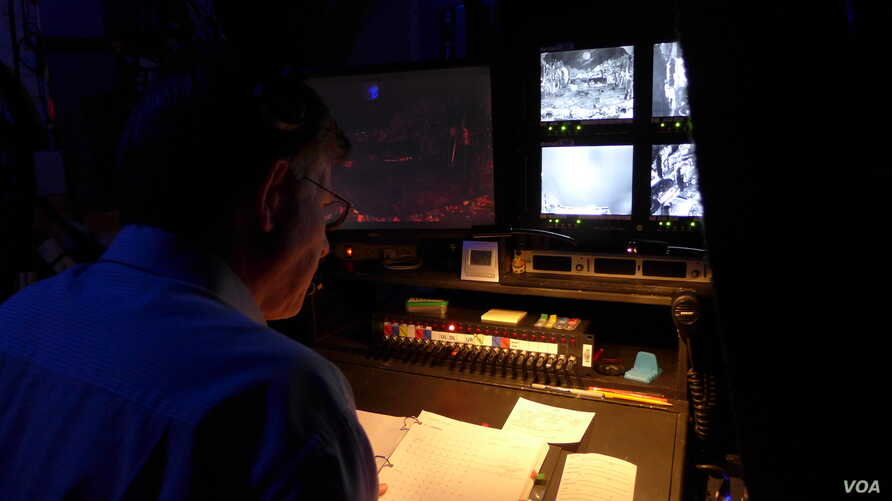 Lights, props, sets, costumes - Broadway stage managers have it all under control