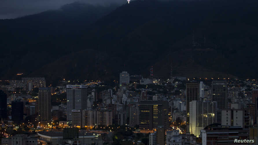 FILE - The Caracas, Venezuela skyline with Avila mountain in the background, Feb. 25, 2012.