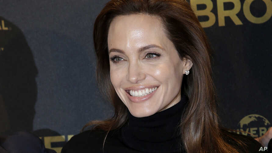 FILE - Actor Angelina Jolie announced in March 2015 that she'd had her ovaries and fallopian tubes removed to prevent cancer. She also underwent a preventive double mastectomy.