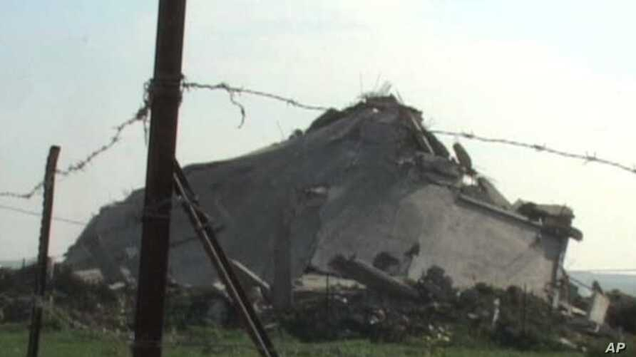 Ruins remain a year after Israel launched Operation Cast Lead, a 22-day ground offensive in the Gaza Strip