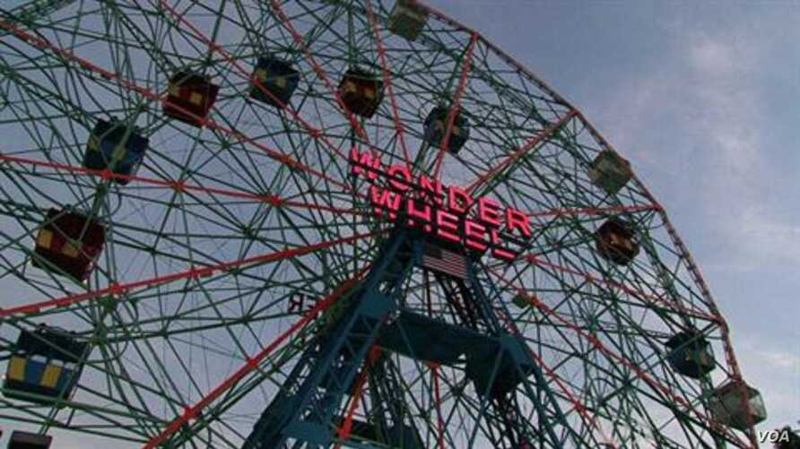 Coney Island Amusement Park Still Up And Spinning Voice Of