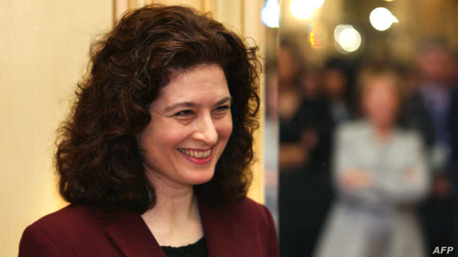 FILE - Journalist Ursula Gauthier, pictured in February 2003, published a story last month that suggested China was using the recent terrorist attacks in Paris to justify crackdowns on Muslim Uighurs in northwestern China.