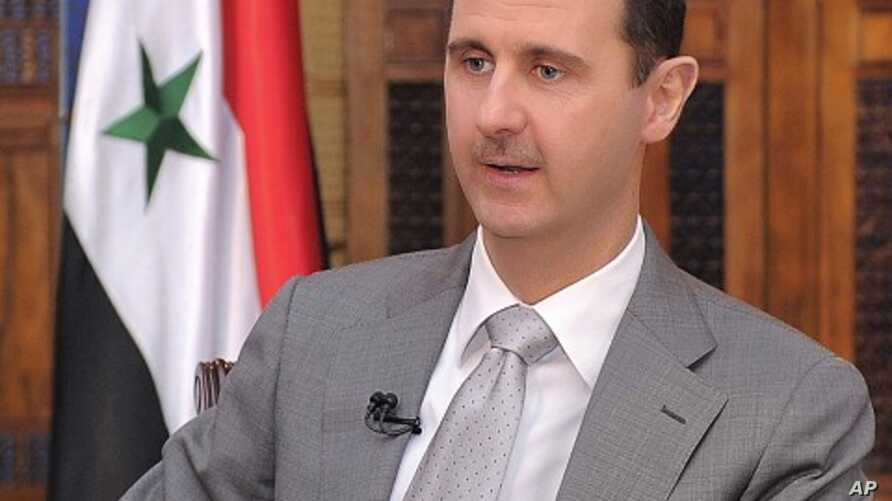 Syrian President Bashar al-Assad (file photo)