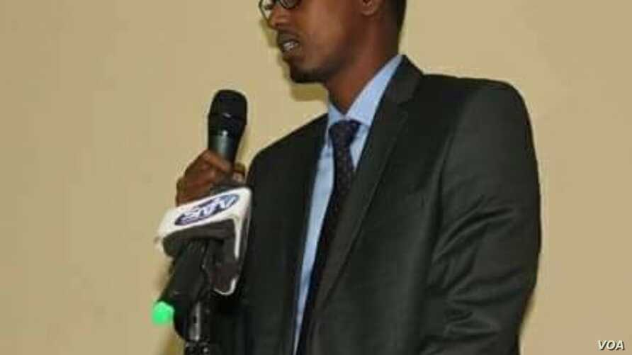 Minister of Public Works and Reconstruction Abbas Abdullahi Sheikh Siraji.