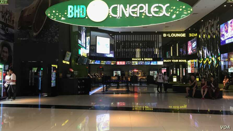 Hundreds of theaters have sprouted up around Vietnam in recent years.
