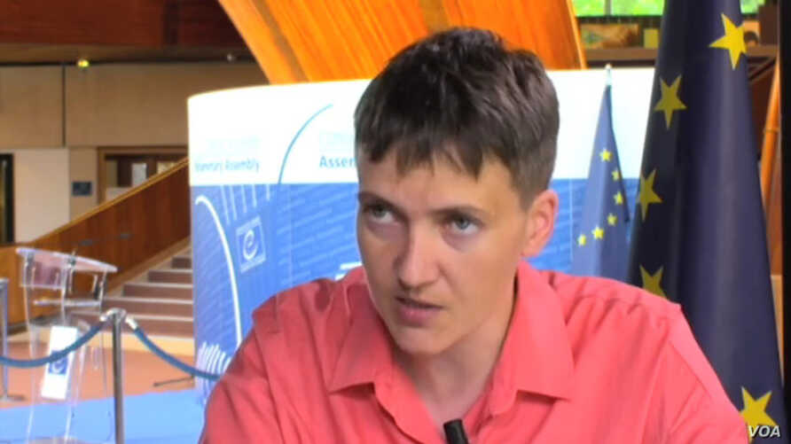 Former military Ukrainian pilot Nadiya Savchenko, captured by Russia-backed separatists in eastern Ukraine in 2014, spent nearly two years in a Russian prison before being swapped for two captured Russian servicemen in May.