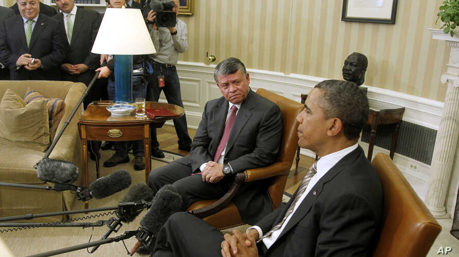 Obama: US to Work Closely with Jordan on Mideast Talks