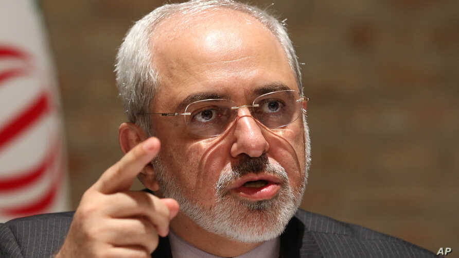 Iranian Foreign Minister Mohammad Javad Zarif speaks to media after closed-door nuclear talks on Iran in Vienna, Austria, July 15, 2014.