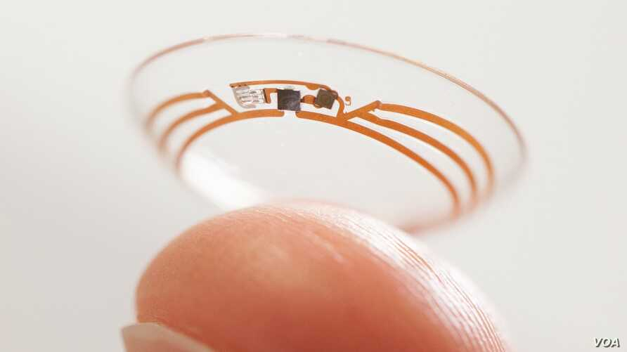 "Google is developing a ""smart"" contact lens that could help people to track their glucose levels."