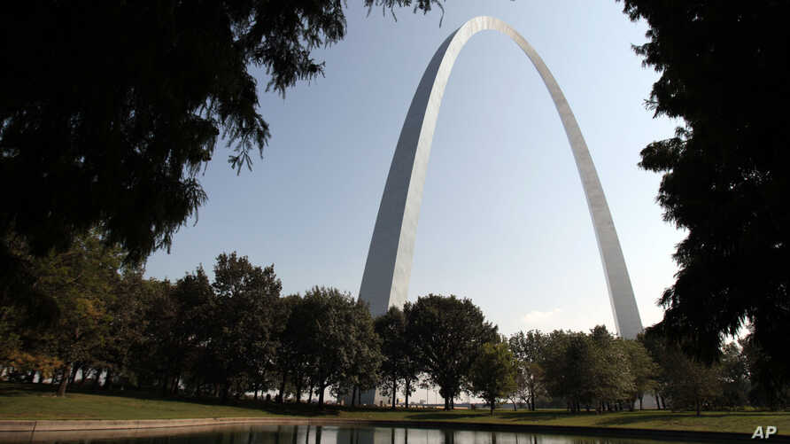 FILE - The Gateway Arch in St. Louis is among the diverse cultural heritage sites threatened by overdevelopment or social, political and economic change, The World Monuments Fund announced Tuesday, Oct. 8, 2013.