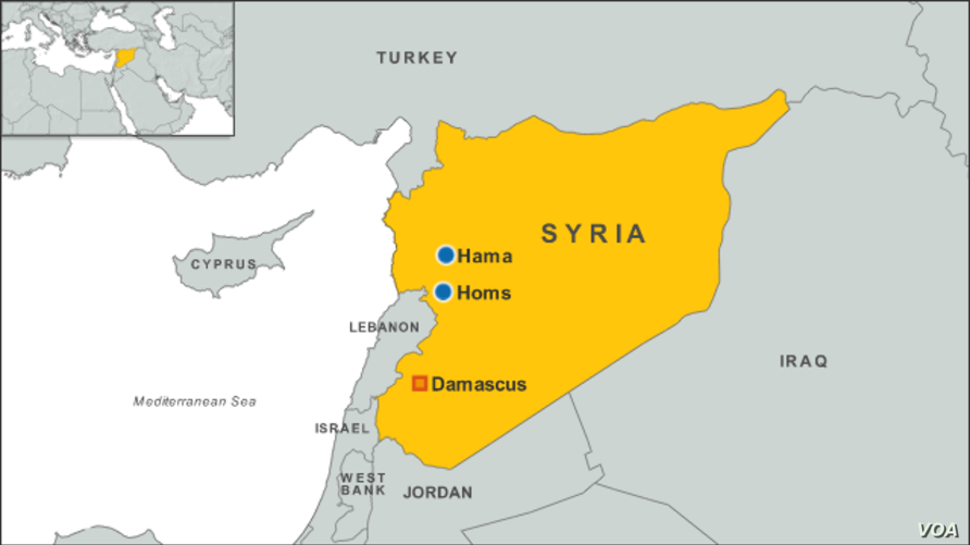 Syria Activists: Hama Car Bomb Toll at Least 42 | Voice of America ...