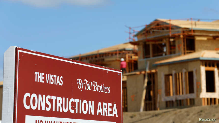 A single family home is shown under construction by Toll Brothers Inc, the largest U.S. luxury homebuilder, in Carlsbad, California, United States, May 23, 2016.