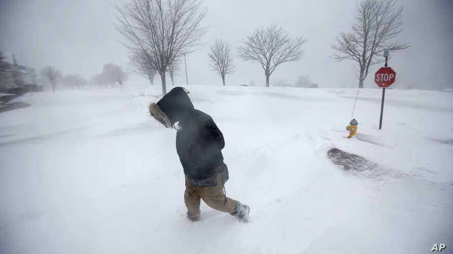 Driven By Winter Wind >> Storm Blasts Winter Weary Northeastern Us Voice Of America English