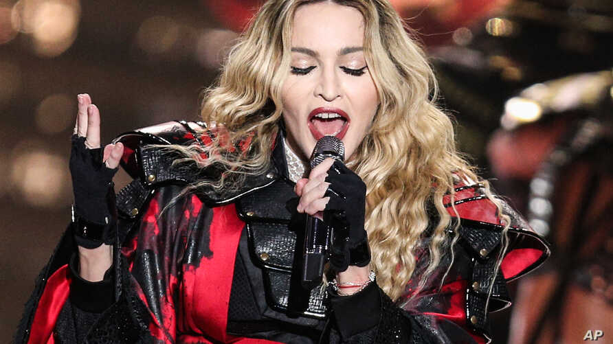Madonna performs at the opening night of her Rebel Heart Tour at the Bell Center on Sept. 9, 2015.