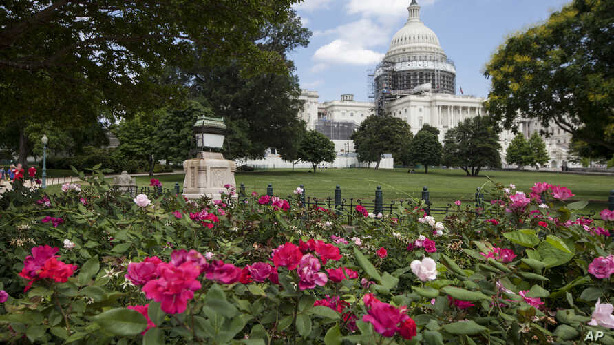 FILE - exterior view of the Capitol Building in Washington. The House is slated to vote Sept. 9 on a bipartisan bill that would allow families of Sept. 11 victims to sue the government of Saudi Arabia.
