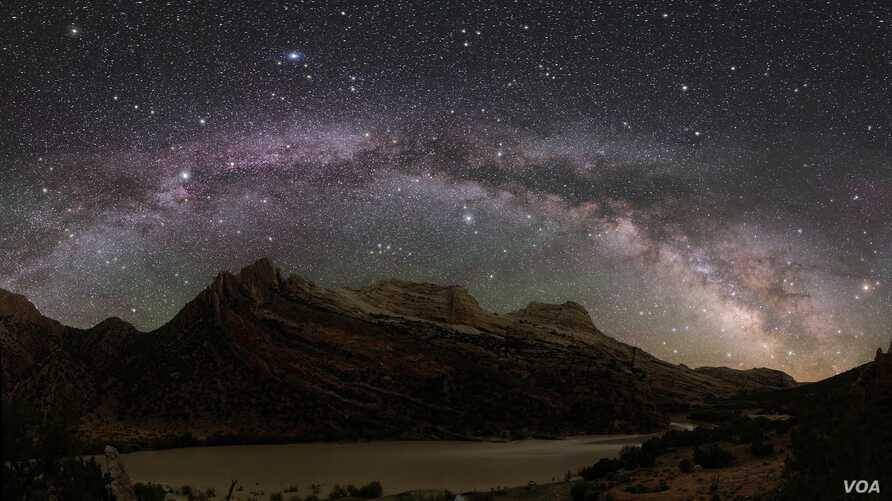 The Milky Way unobscured by light pollution Credit: Dan Durlscoe