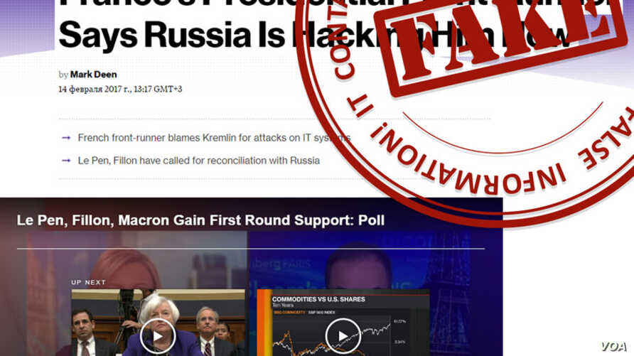 Russian Ministry Website Adds Section On Western Fake News