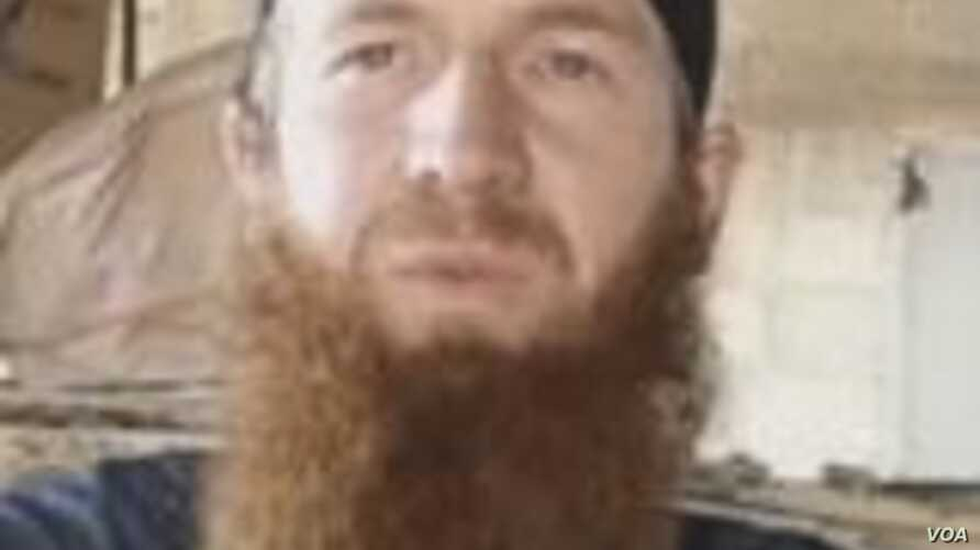 FILE - Tarkhan Batirashvili – known by his aliases 'Omar al-Shishani' and 'Omar the Chechen' – is one of the most senior Islamic State military commanders and a former sergeant in the Georgian Army. The U.S. is trying to determine if an airst...