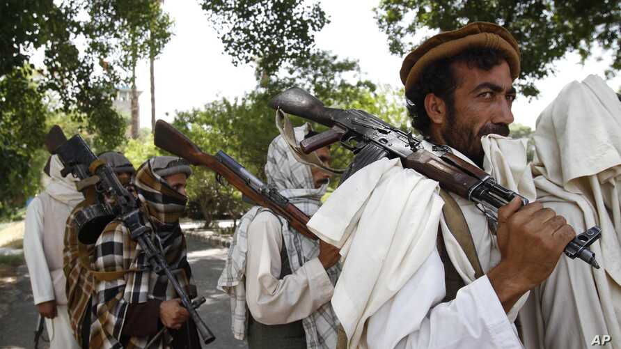 FILE – Taliban representatives are meeting this week in Os