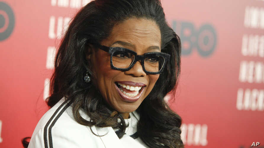 """Oprah Winfrey attends the premiere of HBO Films' """"The Immortal Life of Henrietta Lacks"""" at the SVA Theatre on Tuesday, April 18, 2017, in New York."""