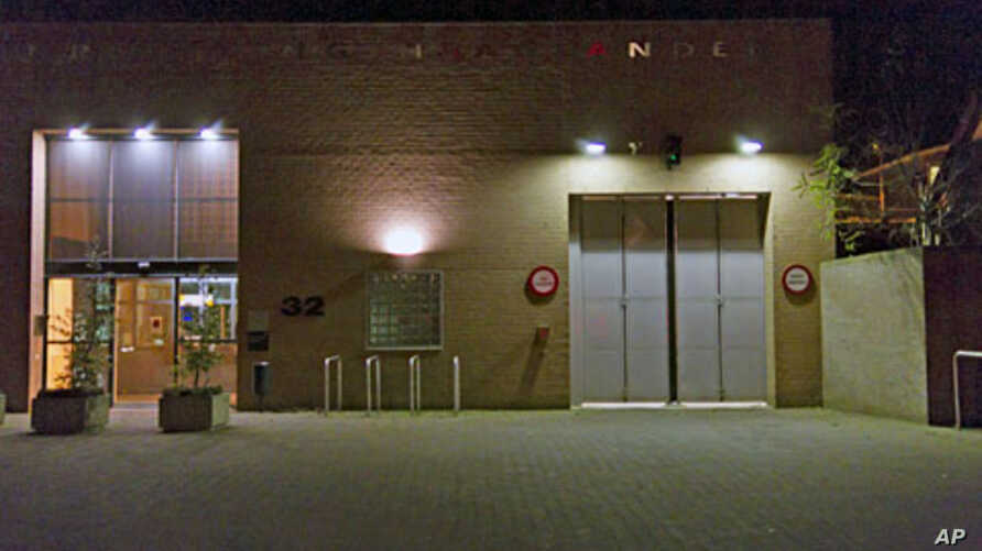 Exterior view of the prison in Scheveningen in the Netherlands, November 30, 2011