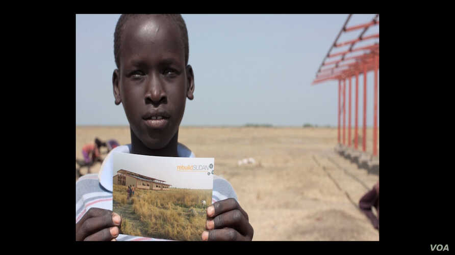 """""""Lost Boy"""" Michael Kuany asked the people in his village what he could do to help them to improve their lives. They asked him to build a school."""