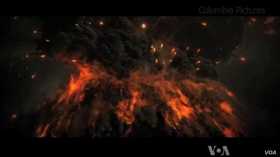Hollywood Movie Depicts Pompeii Destruction in 3D | Voice of
