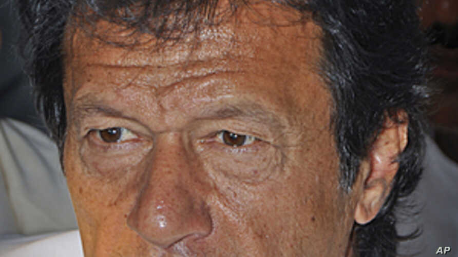 Imran Khan, Pakistani cricketer turned politician. (File)