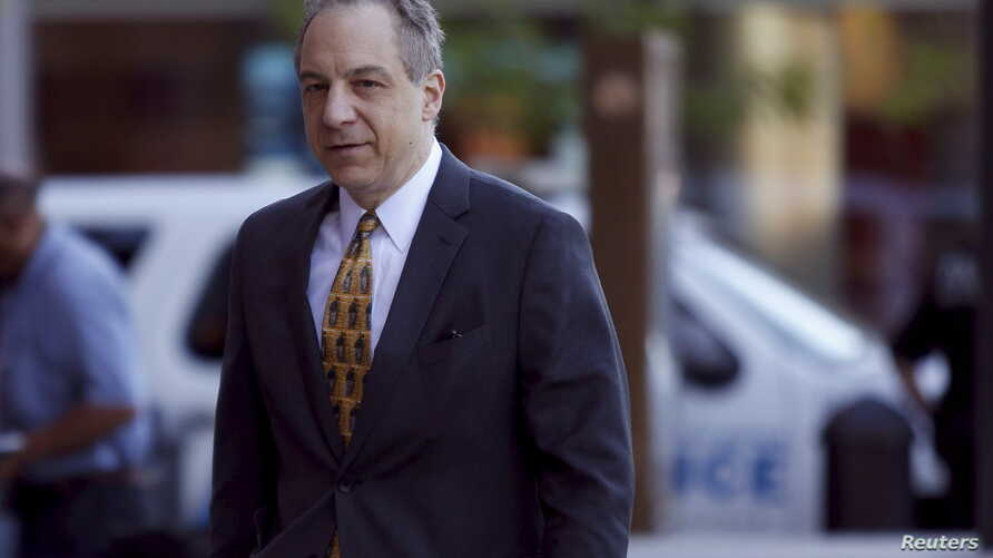 FILE - William Weinreb, acting U.S. Attorney in Boston, was the prosecutor in the Boston Marathon bombing. He arrives, June, 24, 2015, at the federal courthouse in Boston, Massachusett.