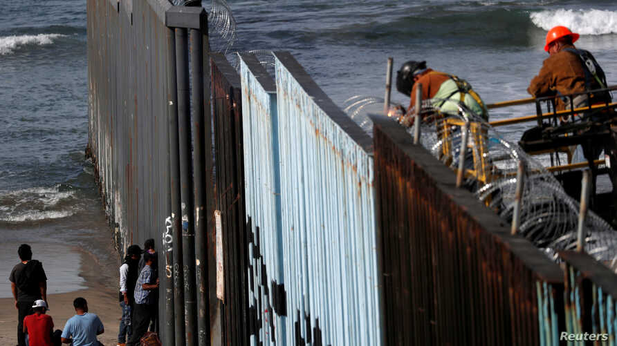 migrants arrived to the border