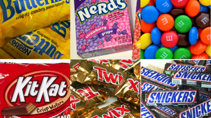 2018's most popular Halloween candy. (Photo courtesy CandyStore.com)