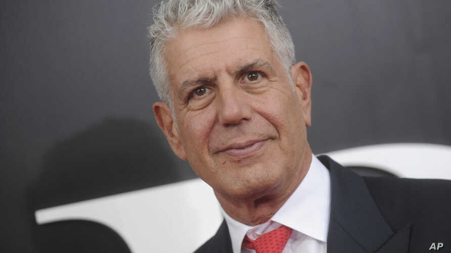 "FILE - Anthony Bourdain at the premiere of ""The Big Short""."