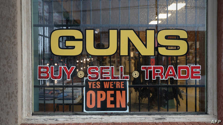 Sarge's Sidearms stands open for business in Benson, Arizona, Sept. 29, 2016. Gun shops are proliferate in Arizona, which regulates and restricts weapons less than anywhere in the United States.