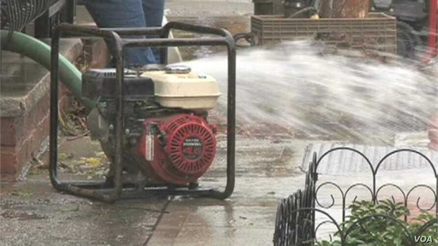 Low-Lying Areas of New York City Suffer Flooding