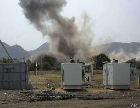 A huge explosion near a United Nations compound in South Kordofan state (File Photo - June 14, 2011)