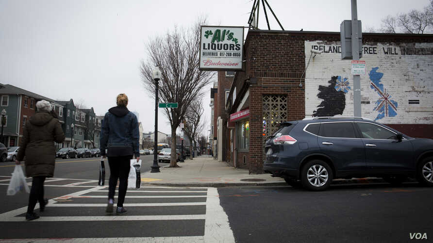 """South Boston, or """"Southie,"""" is a once-predominantly working-class Irish neighborhood."""