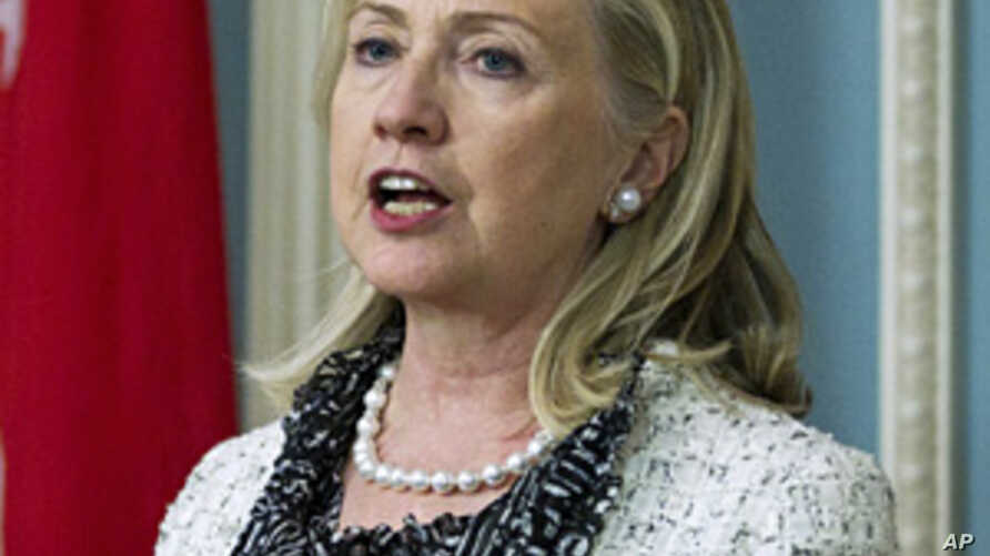 Clinton: UN Must Be On 'Right Side of History' On Syria