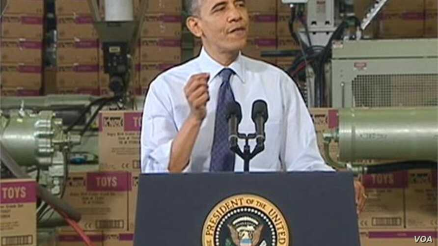 Obama Appeals to Public About 'Fiscal Cliff'