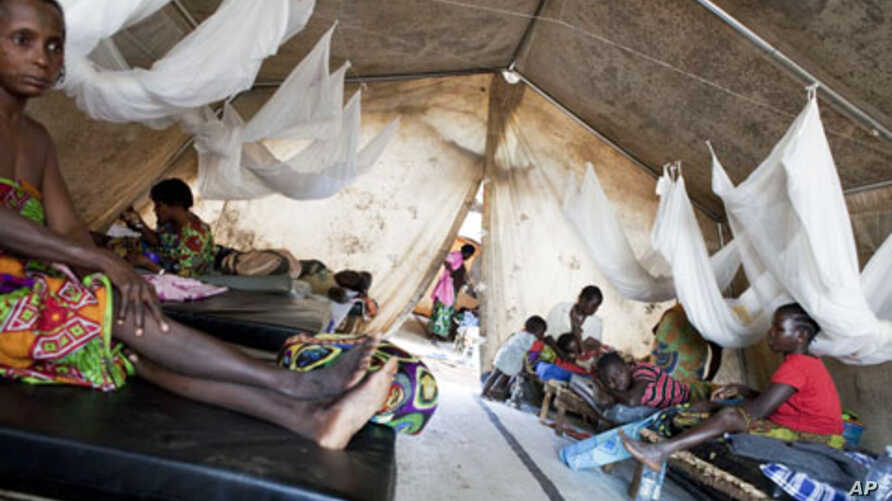 Women rest following surgery to repair fistulas at the Doctors Without Borders' clinic in Boguila, Central African Republic