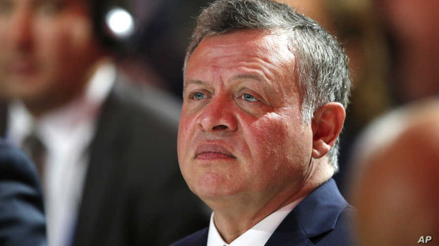 FILE - Jordan's King Abdullah II. Jordan has been taking part in the U.S.-led coalition conducting airstrikes against Islamic State targets in both Iraq and Syria.