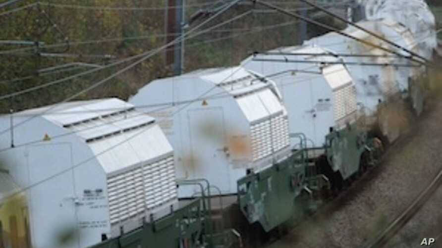 France Stops Nuclear Waste Train Headed for Germany