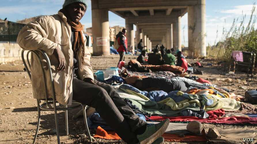 Many people attempting to cross from Italy into France come from sub-Saharan African countries, including Eritrea and Sudan.