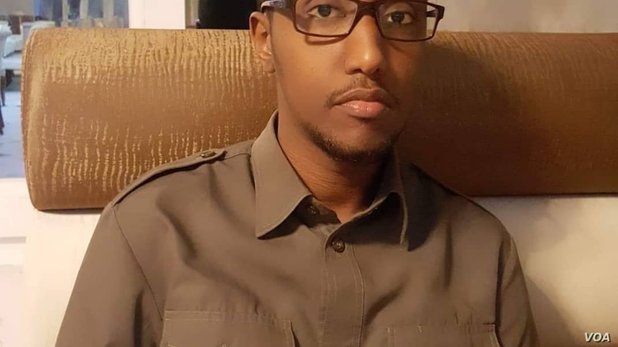 Somalia's deputy attorney general, Mohamed Abdirahman Mursal, is seen in this undated Facebook photo.