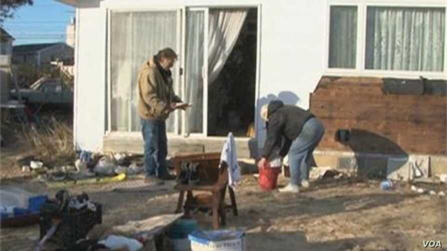 New Jersey Residents Prepare for Another Storm